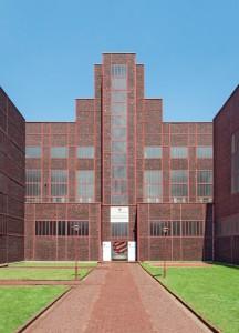 Das Red Dot Design Museum befindet sich auf dem Gelände der Zeche Zollverein
