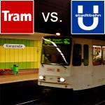 Stadt- oder Straßenbahn? Was ist besser?