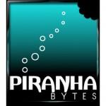 Das Logo von Piranha Bytes. Die Firma hat ihren Sitz heute in Essen.